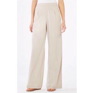BCBGMaxAzria Michela Wide Leg Jersey Pants